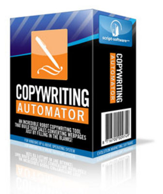 Product picture  Copywriting Automator Software