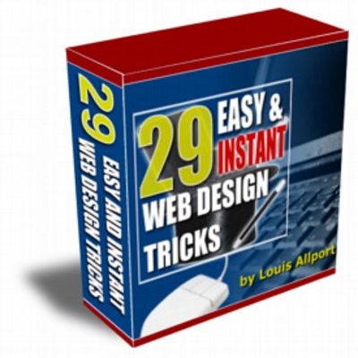Product picture 29 Easy & Instant Web Design Tricks Volume 1 & 2