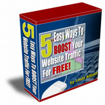 Product picture 5 Easy Ways To Boost Your Website Traffic For Free