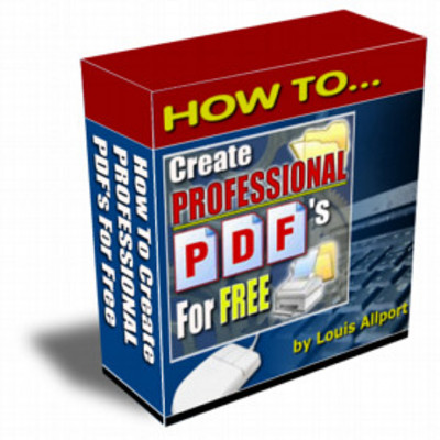 Product picture How To Create Professional PDF Files For FREE