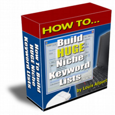 Product picture How To Build HUGE Niche Keyword Lists